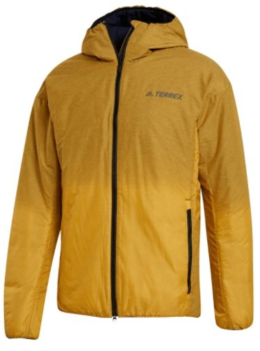 Adidas Winterjacke Terrex Windwave insulated in dunkelgelb für 99,96€ inkl. Versand (statt 116€)