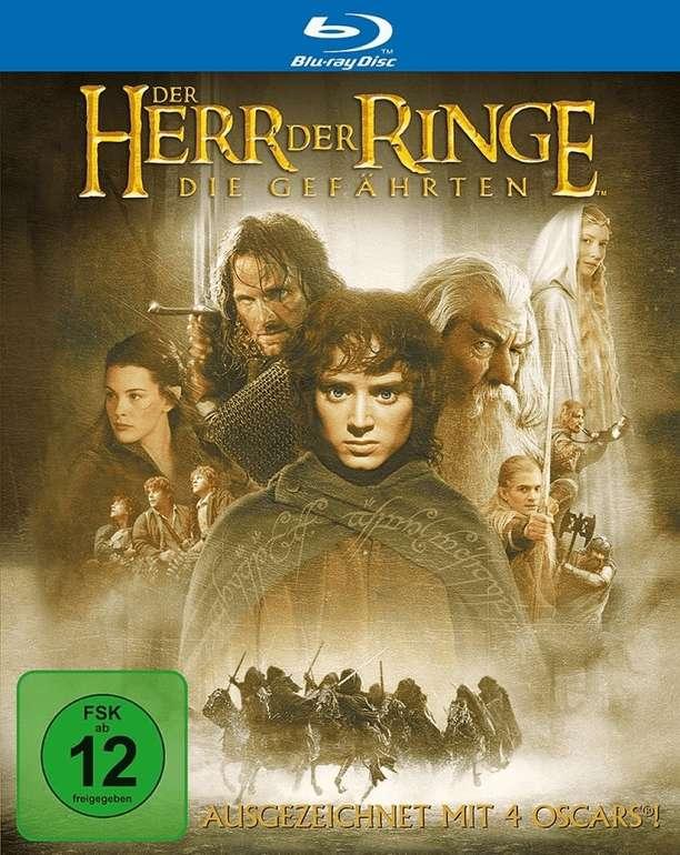 Der Herr der Ringe: Die Gefährten (Blu-ray) für 4,21€ inkl. Versand (statt 11€)