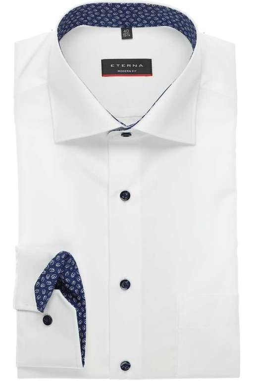 17% Rabatt auf alles bei Hemden.de (auch Sale) - z.B. Eterna Modern Fit Hemd für 27,35€ (statt 40€)