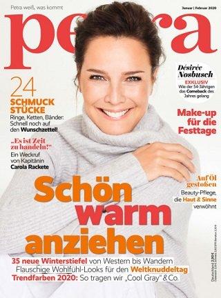 """Jahresabonnement der Zeitschrift """"petra"""" mit 10 Ausgaben für 4,95€"""