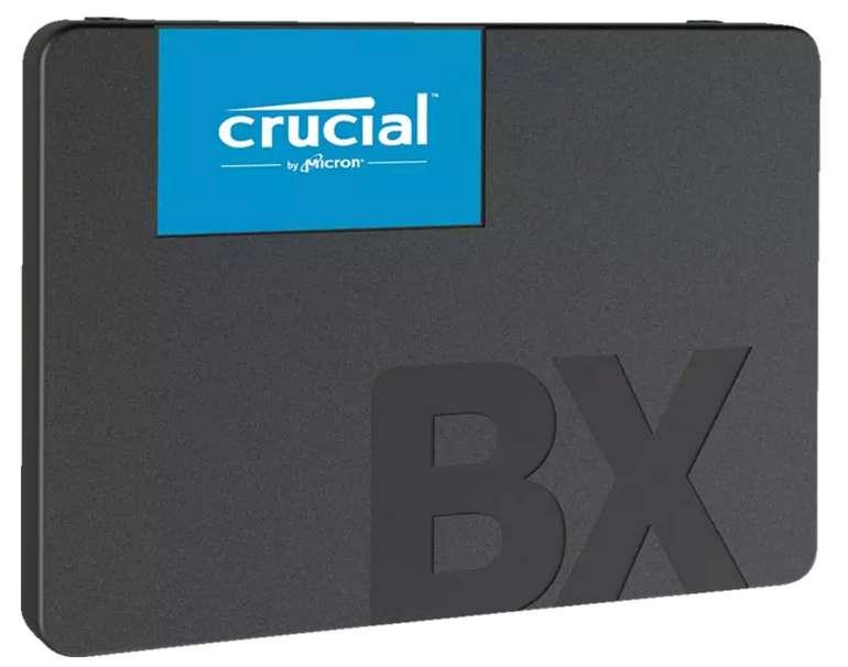Crucial BX500 Festplatte mit 120 GB (SSD, SATA 6 Gbps, 2,5 Zoll, intern) für 22,53€ inkl. Versand (statt 27€) - Saturn Card!