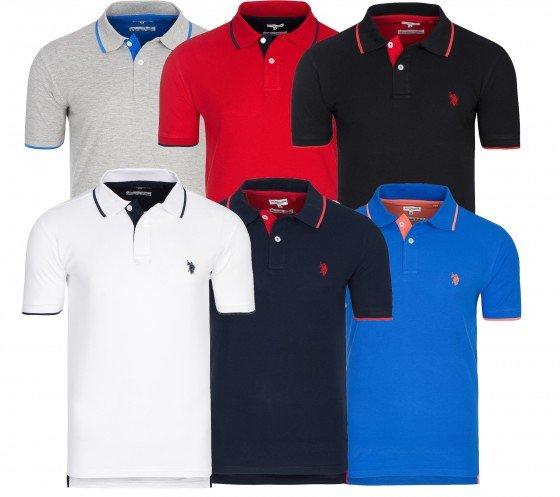 U.S. Polo Assn. Shortsleeve Poloshirts für 19,99€ + gratis Kneipp Badezusatz