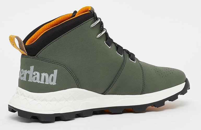 Timberland Brooklyn City Mid Dark Green Helcor Boots 2