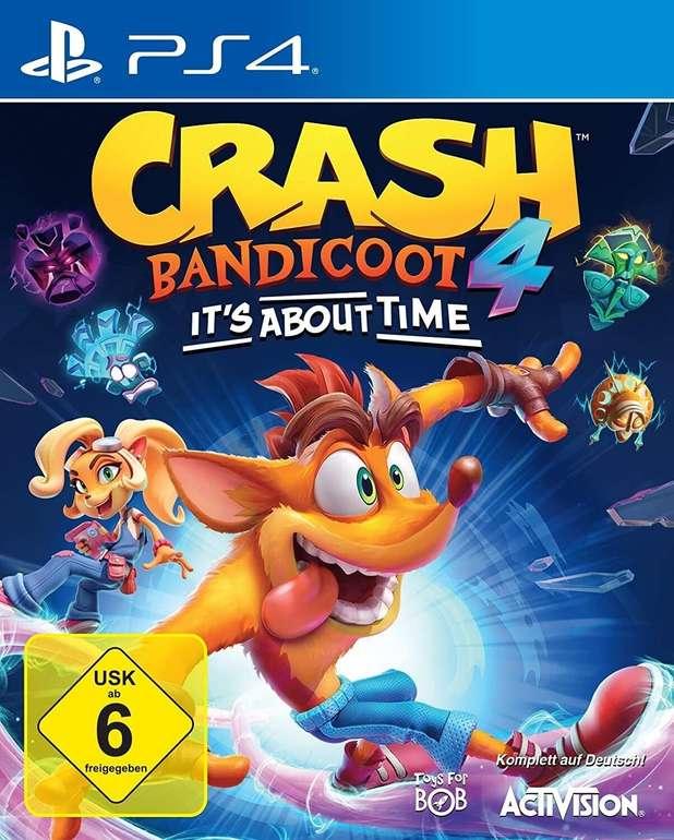 Crash Bandicoot 4: It's About Time (PS4) für 39,99€ inkl. Prime Versand (statt 49€)