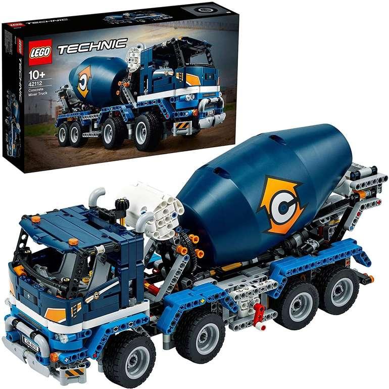 Lego Technic 42112 - Betonmischer-LKW für 63,34€ (statt 73€)