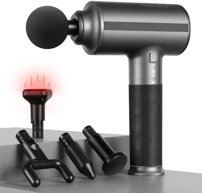 Generic Massagepistole mit Wärmefunktion für 79,99€ inkl. Versand (statt 200€)