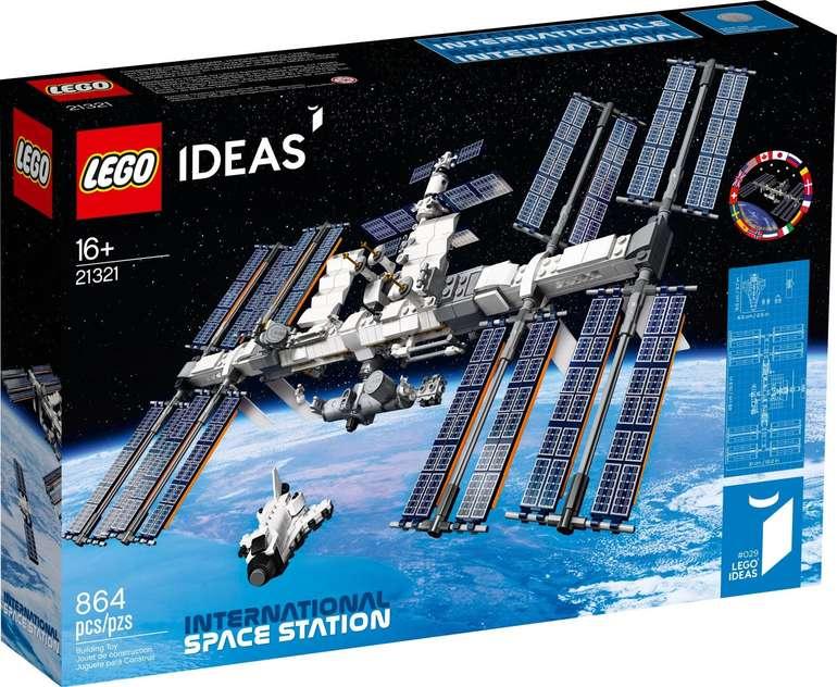 Lego Ideas - Internationale Raumstation (21321) für 58,64€ inkl. Versand (statt 66€)