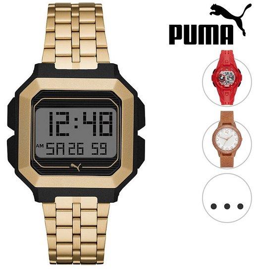 Puma Armbanduhr (Remix, Bold, Reset) für je 25,90€ inkl. Versand (statt 47€)