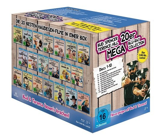 Bud Spencer & Terence Hill - Mega Blu-ray Collection für 69,97€ inkl. Versand (statt 105€)