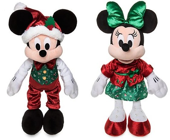 Micky und Minnie – Kuschelpuppen-Bundle (43 x 17 x 15 cm) für nur 19,10€ (statt 60€)