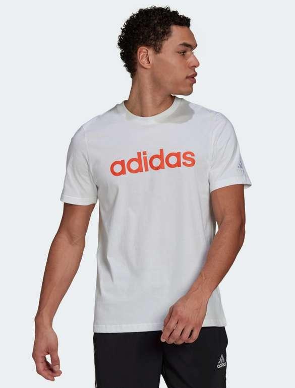 Adidas Essentials Embroidered Linear Logo T-Shirt  (Größe M) für 9,60€inkl. Versand (statt 20€) - Creators Club!