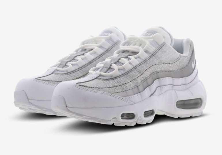 Nike Max 95 Premium Damen Schuhe in Silber für 109,99€ inkl. Versand (statt 135€)