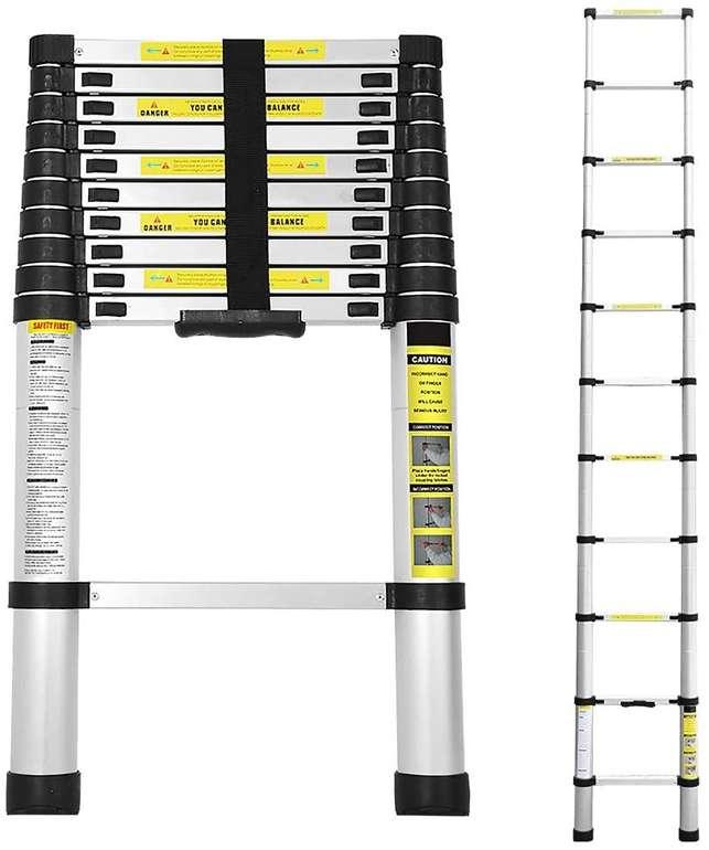 Swanew Alu Teleskopleitern reduziert, z.B. 3,2m für 51,09€ (statt 73€)
