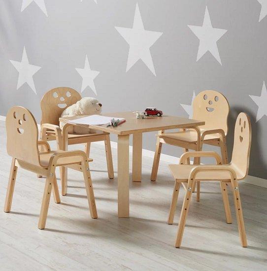 """Bessagi Kindertisch """"Sunny"""" aus Birke für 35,88€ inkl. Versand (statt 45€)"""