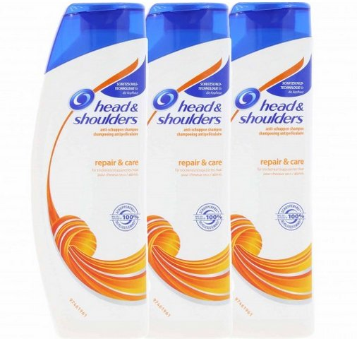 3er Pack Head & Shoulders Repair & Care Anti-Schuppen-Shampoo für 4,99€