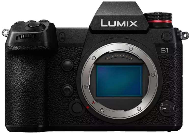 Panasonic Lumix DC-S 1 Body Systemkamera (8 cm Display, Touchscreen, WLAN) für 1649€ (statt 1849€)
