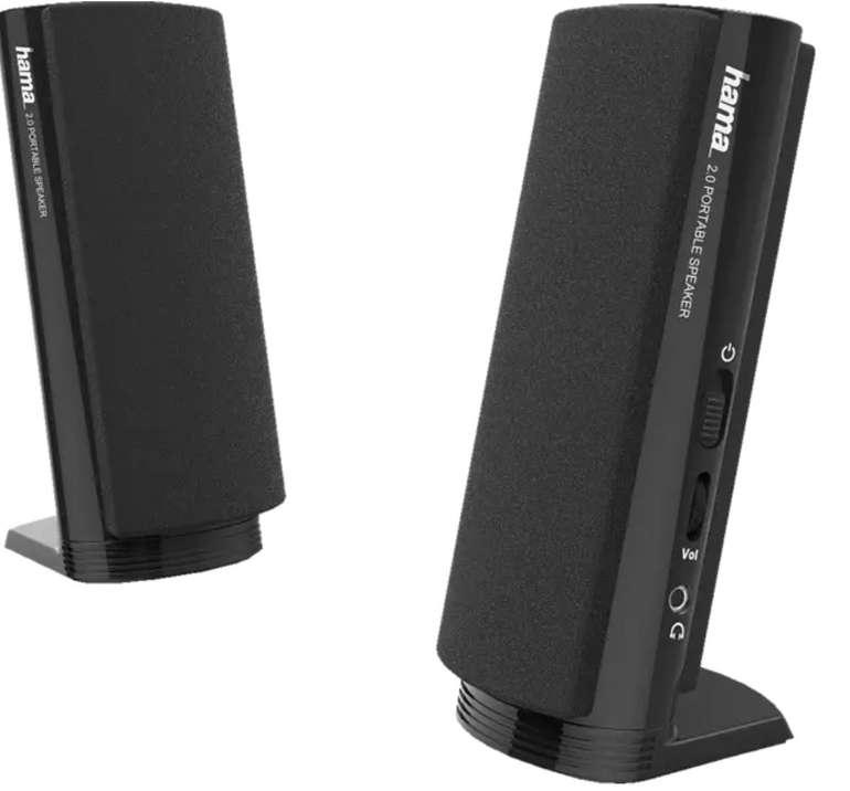 Hama E 80 PC-Lautsprecher für 8,62€ inkl. Versand (statt 12€)