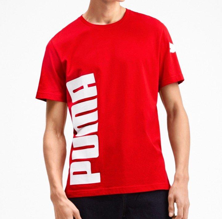 Puma Big Logo Graphic Herren T-Shirts für je 14€ inkl. Versand (statt 17,50€)