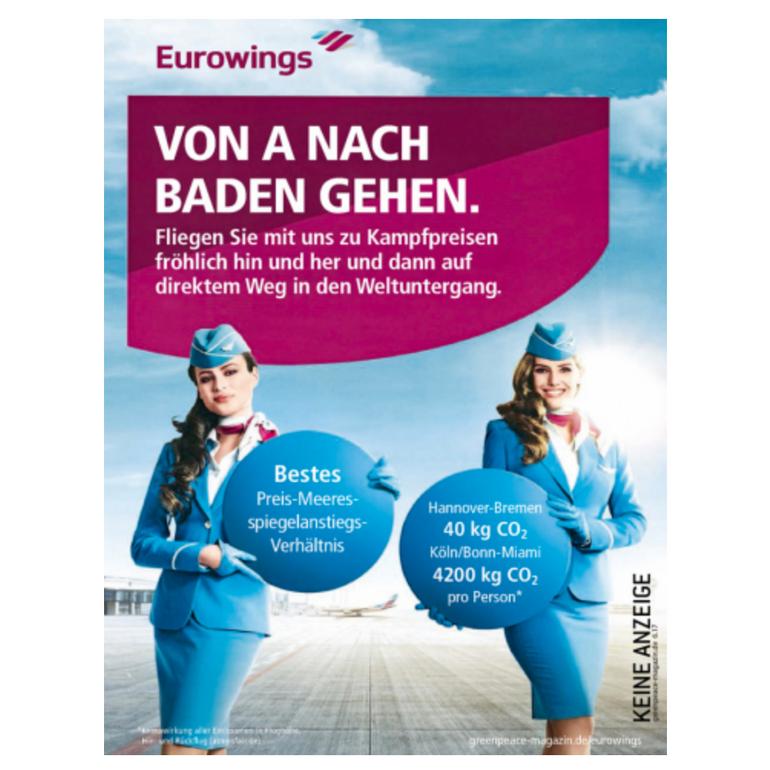 Ein Greenpeace Magazin gratis (keine Kündigung notwendig)