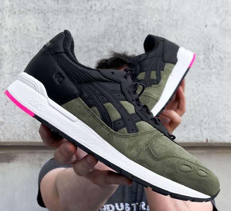 Asics GEL-Lyte V Herren Sneaker in Oliv/Pink für 49,99€inkl. Versand (statt 60€)