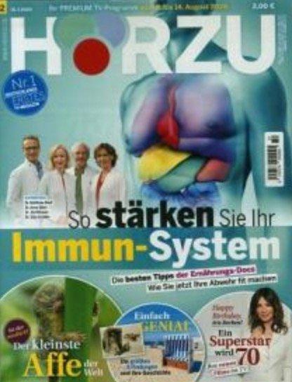 """Halbjahres-Abo """"HÖRZU"""" (26 Ausgaben) für 59,80€ + z.B. 55€ Bestchoice Gutschein"""
