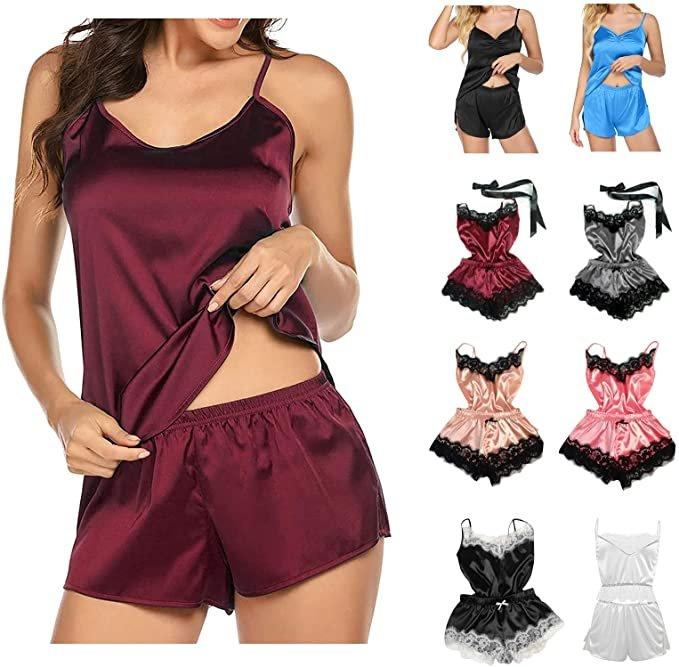 Ylzsx Damen Schlafanzüge ab 2,84€ inkl. Versand (statt 4€)