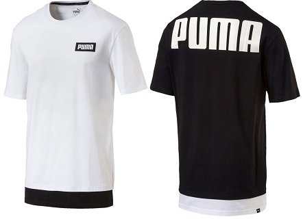 Puma Rebel Herren T-Shirts von S bis 2XL für je 15€ inkl. VSK (statt 22€)