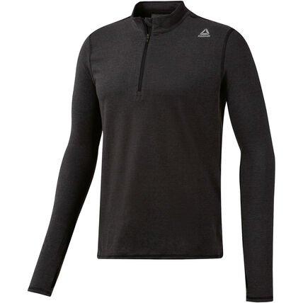 Reebok Herren Langarmshirt Essentials Quarter-Zip Laufjacke ab 15,29€ (statt 53€)