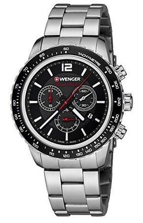 """Wenger Unisex-Armbanduhr """"01.0853.107"""" für 109,35€ inkl. VSK (statt 210€)"""