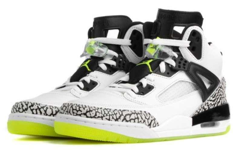 Jordan Spizike Herren Basketball Sneaker (white/volt-black) für 119,99€ (statt 160€)