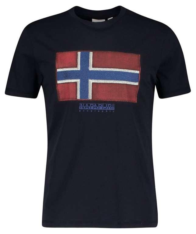 "Napapijri Herren T-Shirt ""Sirol"" für 18,71€ inkl. Versand (statt 23€)"
