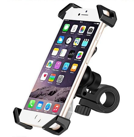 IceFox Handy-Halterung für Fahrräder, Motorräder u.v.m für nur 9,99€ (Prime)