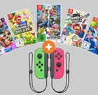 Top Switch Spiel z.B. Super Mario Party + 2er Set Joy Cons für 99€ (statt 110€)