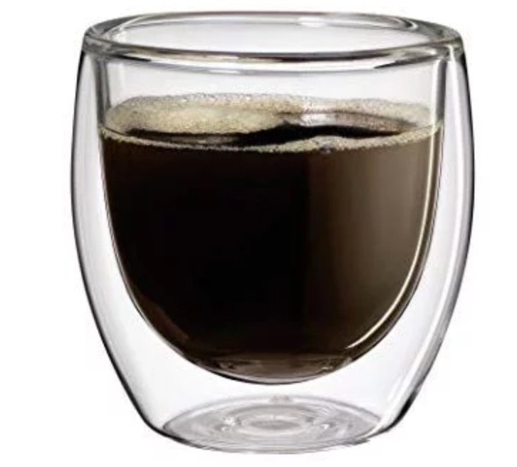 2er Set Cilio Kaffeegläser (250ml, Tranparent, doppelwandig) ab 5,59€ (statt 22€)