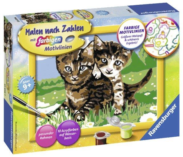 """Ravensburger Malset """"Verspielte Kätzchen"""" für 6€ inkl. Versand"""