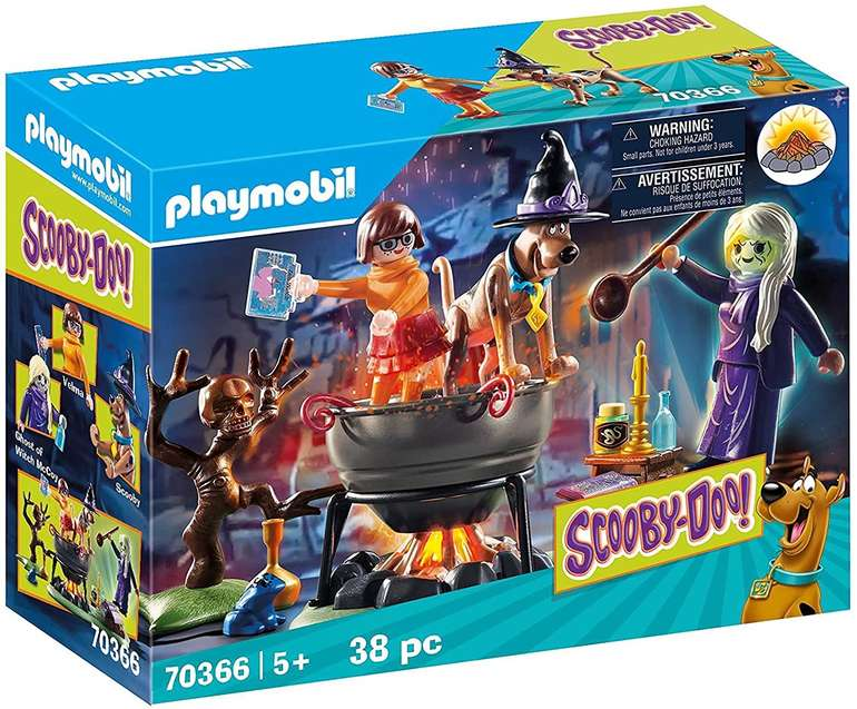 Playmobil Scooby-Doo! Abenteuer im Hexenkessel (70366) für 6,96€ inkl. Prime Versand (statt 10€)