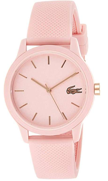 Lacoste Damen Analog Quarz Uhr mit Silikon Armband für 49,99€inkl. Versand (statt 69€)