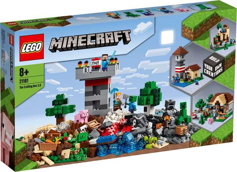 LEGO Minecraft - Die Crafting-Box 3.0 (21161) für 49,99€ inkl. Versand (statt 60€)