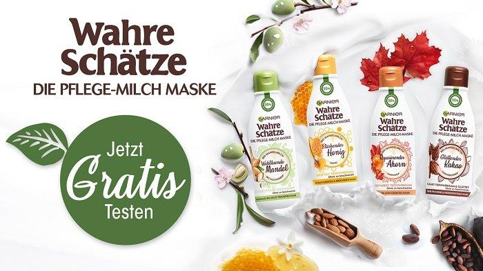 Garnier Wahre Schätze Pflege-Milch Mase