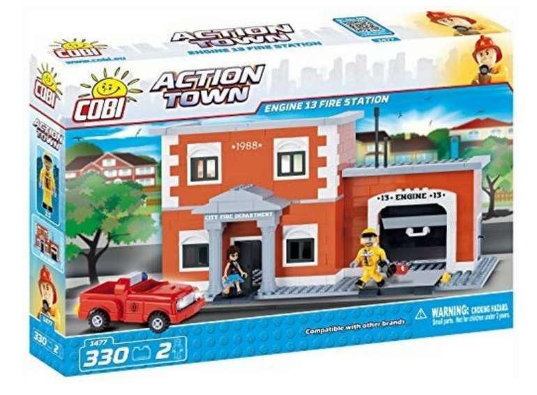 Cobi Action Town Feuerwehrstation Bausatz für 8,26€ inkl. Versand (statt 14€) - Thalia Club!