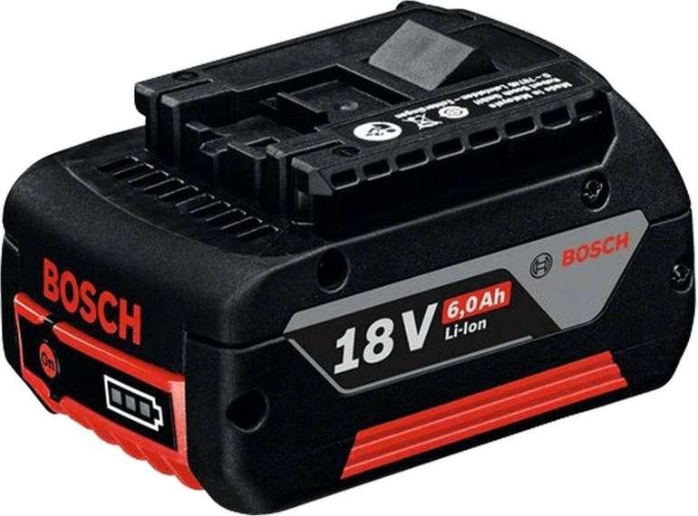 Bosch Akkupack GBA 18V 6,0Ah für 49,95€ (statt 59€)