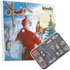 kwb Adventskalender 2017 (Bohrer, Micro Bits, Cuttermesser...) für 34,99€
