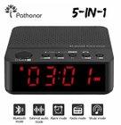 Pathonor Bluetooth LED-Radiowecker mit Lautsprecher für 14,89€ (Prime)