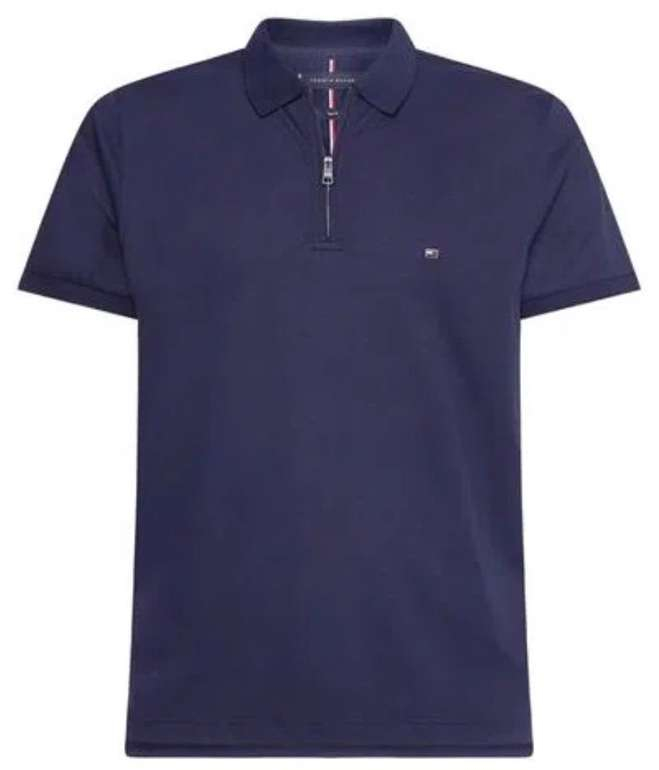 Tommy Hilfiger Interlock Zip Slim Herren Polo-Shirt für 47,94€ inkl. Versand (statt 80€)