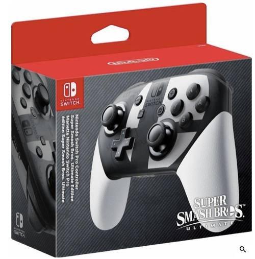 Nintendo Switch Pro Controller Super Smash Bros. Ultimate Edition für 89,84€ inkl. Versand (statt 111€)