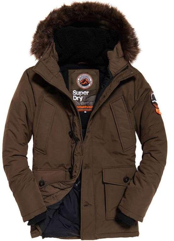 Superdry Everest Parka - Khaki für 71,79€ inkl. Versand (statt 149,99€)