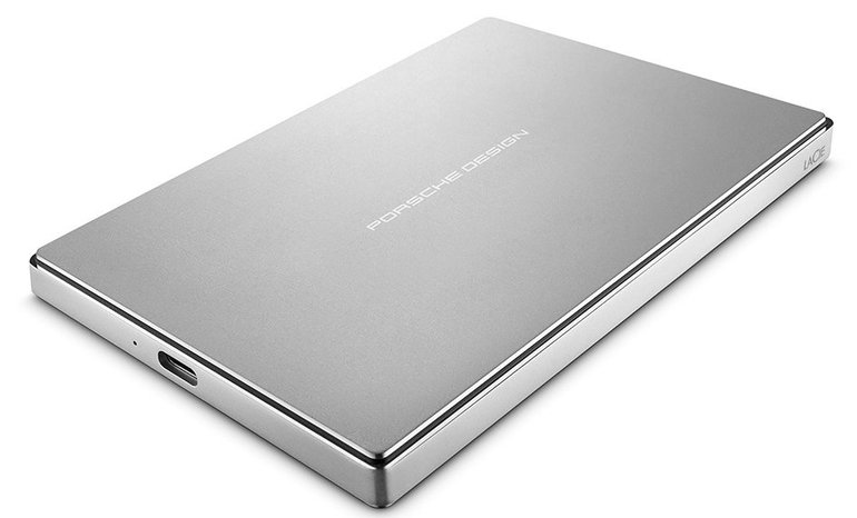 LaCie Porsche Design Mobile Drive - externe USB-C Festplatte mit 4TB für 109€