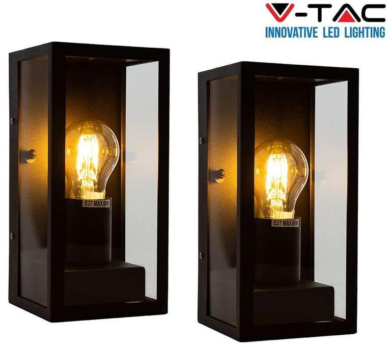 2x V-Tac Wandleuchte VT-837 (IP44) für 35,90€ inkl. Versand (statt 60€)