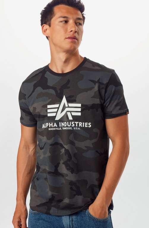 Alpha Industries Herren Shirt im Camouflage-Design für 16,92€ inkl. Versand (statt 25€)