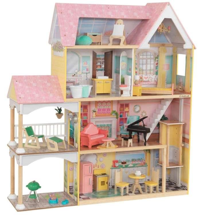 """KidKraft Puppenhaus """"Lolas Villa"""" für 156,39€ inkl. Versand (statt 196€)"""